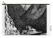 Anchored Safe Chatterbox Falls, British Columbia Inside Passage Carry-all Pouch