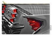 Desoto Red Tail Lights In Black And White Carry-all Pouch