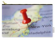 Destination To New York Carry-all Pouch