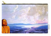 Detail From - Sun Woman Carry-all Pouch