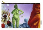 Detail From - The Dreamer's Night Carry-all Pouch