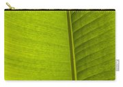 Detail Of Banana Leaf Andromeda Carry-all Pouch
