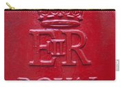 Detail Of Old Royak Mail Post Box Carry-all Pouch