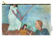Detail Of We All Went Punting Carry-all Pouch