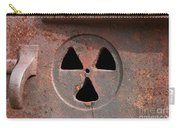 Detailed View Of Rusted Furnace Glacier National Park Montana Carry-all Pouch