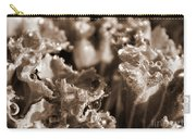 Details In The Dew Sepia Carry-all Pouch