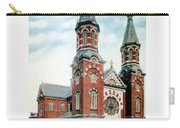 Detroit - St Mary Catholic Church - Monroe Avenue - 1910 Carry-all Pouch