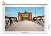 Detroit - The Belle Isle Bridge - 1908 Carry-all Pouch