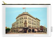 Detroit - The Cadillac Hotel - Cadillac Boulevard And Michigan Avenue - 1918 Carry-all Pouch