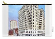 Detroit - The Lafayette Building - Michigan Avenue Lafayette And Shelby Streets - 1924 Carry-all Pouch