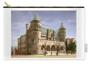 Detroit - The Museum Of Art - Jefferson Avenue At Hastings Street - 1905 Carry-all Pouch