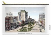 Detroit - Cadillac Square - 1905 Carry-all Pouch