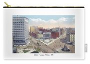 Detroit - Campus Martius - Soldiers And Sailors Monument - 1914 Carry-all Pouch