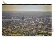 Detroit City  Carry-all Pouch by Nicholas  Grunas