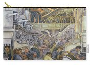 Detroit Industry  North Wall Carry-all Pouch by Diego Rivera