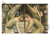 Detroit Industry  South Wall Carry-all Pouch by Diego Rivera