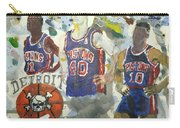 Detroit Pistons Bad Boys  Carry-all Pouch
