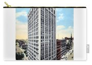 Detroit - The Kresge Building - West Adams Street - 1918 Carry-all Pouch