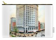 Detroit - The Majestic Building - Woodward Avenue - 1900 Carry-all Pouch