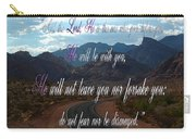 Deuteronomy 31 Verse 8 Carry-all Pouch