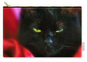 Devil In A Red Dress Carry-all Pouch