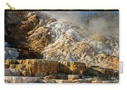 Devils Thumb At Mammoth Hot Springs Carry-all Pouch