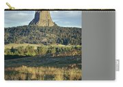 1m9806-devil's Tower 1 Carry-all Pouch