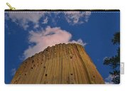 Devils Tower As A Volcano Carry-all Pouch