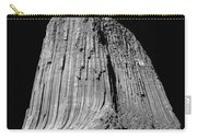 109851-bw-devil's Tower 2  Carry-all Pouch