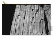 109851-bw-e-devil's Tower Bw 3 Carry-all Pouch