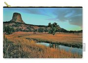 Devils Tower Daybreak Carry-all Pouch