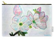 Dew And Smell Of Almond Flowers Carry-all Pouch