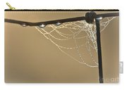 Dew And Webs Carry-all Pouch