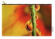 Dew Droplet Fractals Carry-all Pouch