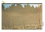 Dew Fog And Grasses Carry-all Pouch