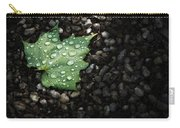 Dew On Leaf Carry-all Pouch
