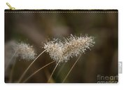 Dew On Ornamental Grass No. 2 Carry-all Pouch