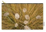 Dew On Ornamental Grass No. 3 Carry-all Pouch