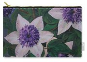 Clematis After The Rain Carry-all Pouch