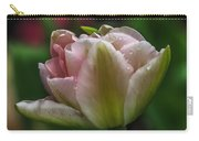 Dew On The Tulip Carry-all Pouch