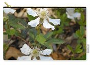 Dewberry Flower Carry-all Pouch