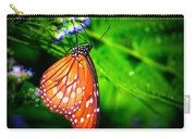 Dewdrop Butterfly Carry-all Pouch