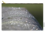 Dewdrops On Wyoming's Leaves Carry-all Pouch by J McCombie