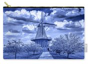deZwaan Holland Windmill in Delft Blue Carry-all Pouch