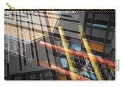 Diagonal Mondrian Carry-all Pouch