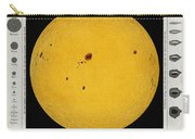 Diagram Of The Sun With Sunspots C Carry-all Pouch