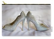 Diamante Wedding Shoes Carry-all Pouch