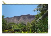 Diamond Head From Honolulu Zoo Carry-all Pouch