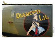 Diamond Lil B-24 Bomber Carry-all Pouch