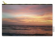 Diamond Shoals Sunset - Outer Banks Nc Carry-all Pouch